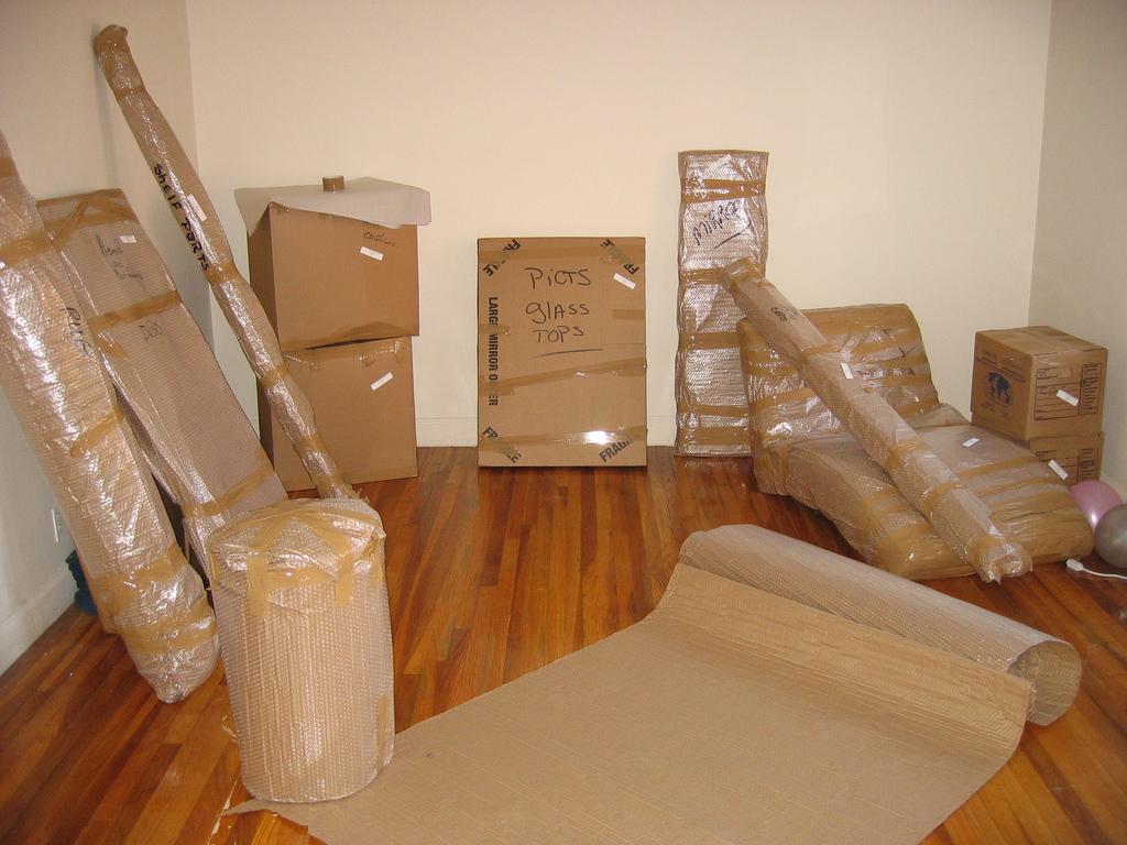 Доставка упаковки